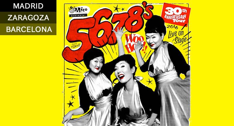 concierto the 5678s