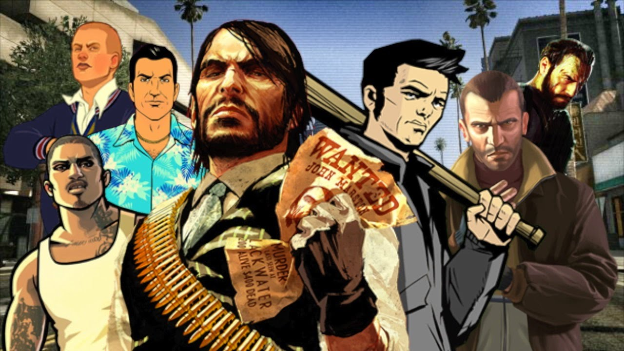 Los 5 mejores videojuegos de Rockstar Games