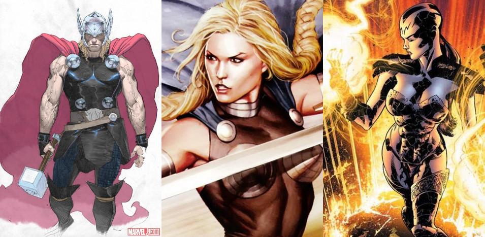Primeras fotos de Thor y Valquiria en 'Thor 3: Ragnarok'
