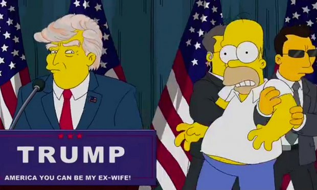'Los Simpson' vaticinaron la presidencia de Trump hace 16 años