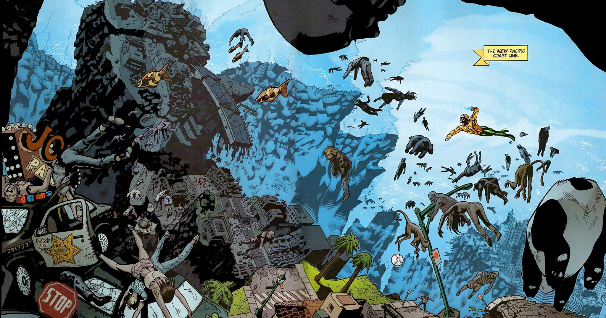 Las 5 mejores historias de Aquaman en los comics