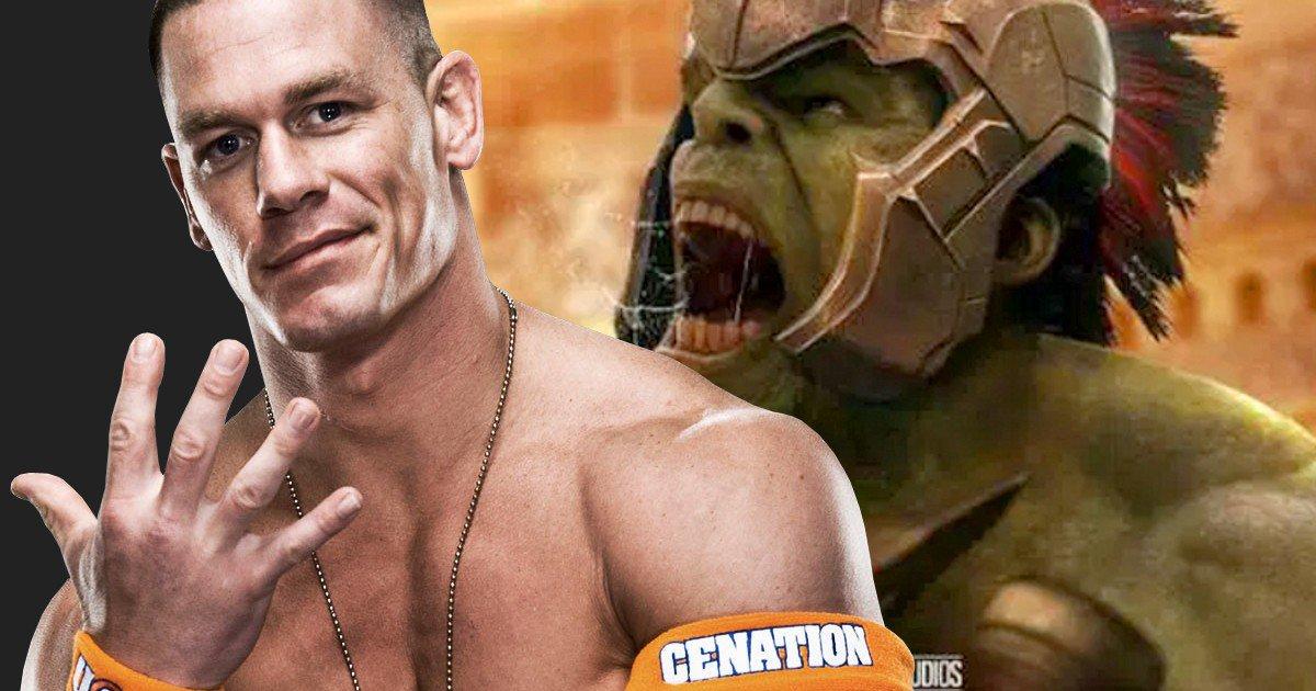 El papel de John Cena en 'Thor 3: Raganrok'