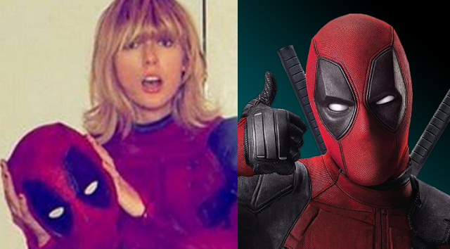 Taylor Swift, Lady Deadpool gracias a Ryan Reynolds