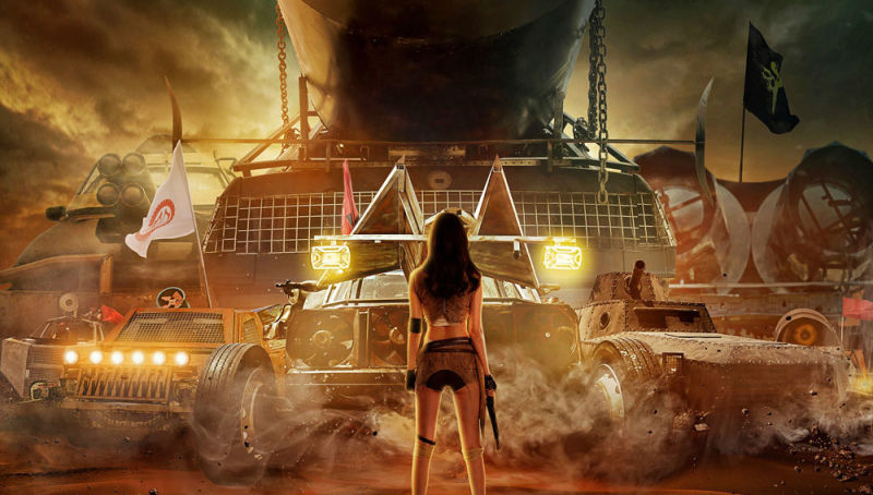 Delirante versión china de 'Mad Max: Fury Road'; 'Mad Shelia'