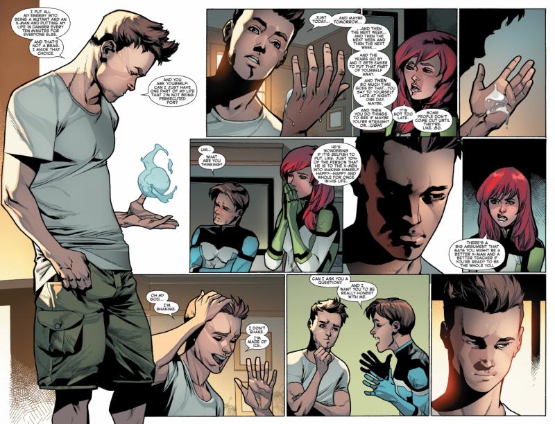 Marvel revela porqué decidieron hacer al Hombre de Hielo gay