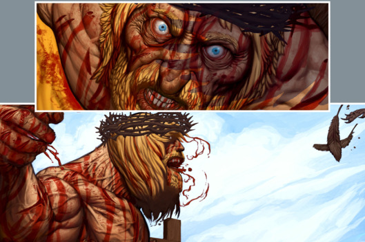Primer vistazo a 'La Espada Salvaje de Jesucristo' de Grant Morrison