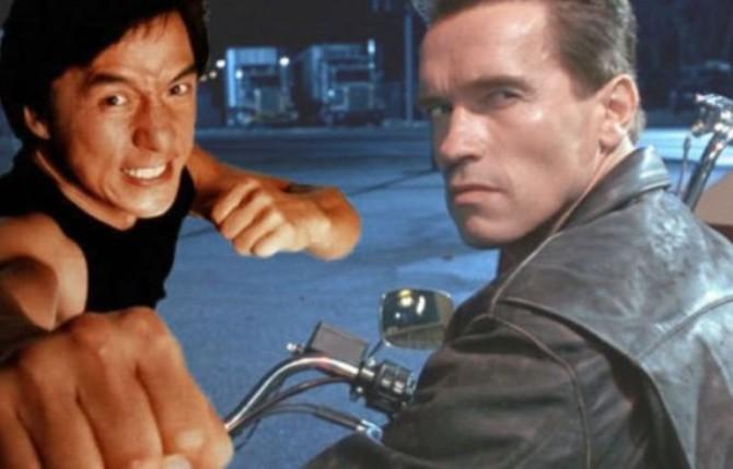 Arnold Schwarzenegger y Jackie Chan juntos en una película