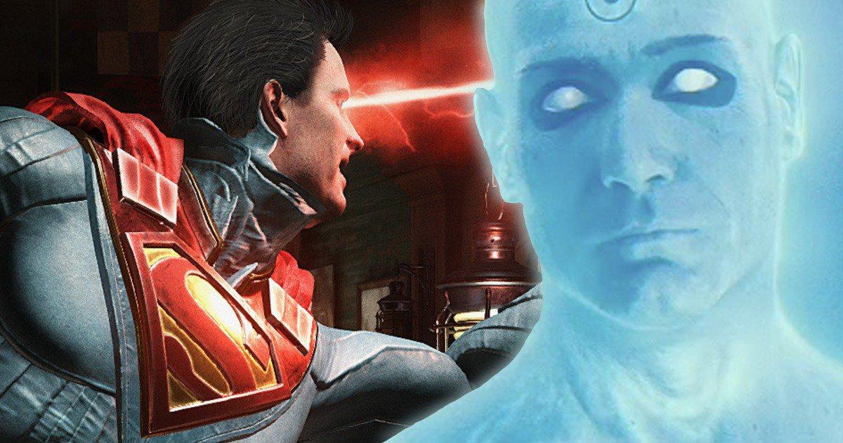 Los personajes de Watchmen en 'Injustice 2'