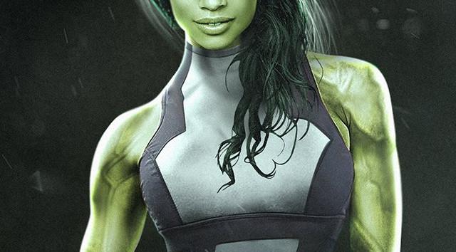 Hulka en los 'Defensores' de Marvel Studios