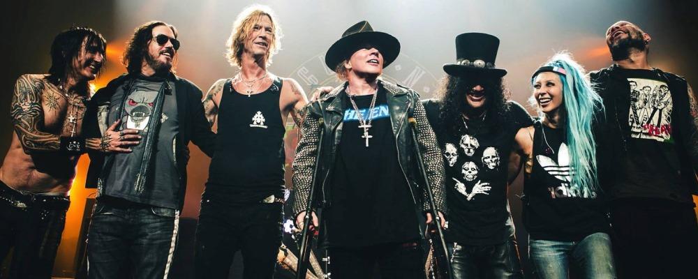 Guns N' Roses llega a España
