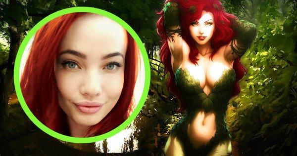 Sugerente candidata para Poison Ivy en 'Gotham City Sirens'
