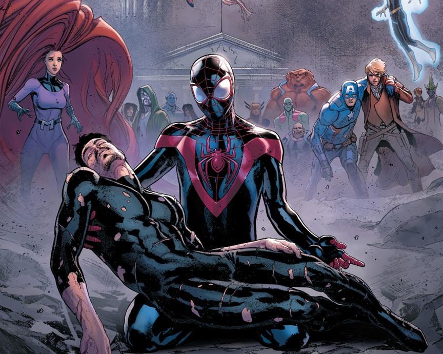 Revelado el destino de Iron Man en 'Civil War II'