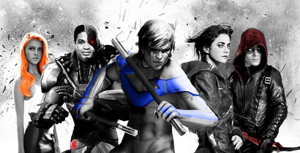 Los Teen Titans en televisión con 'Arrow'