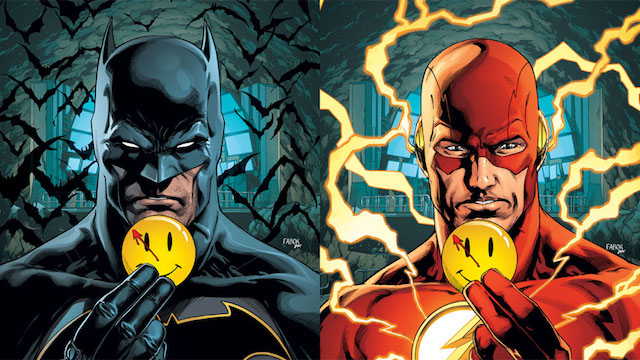 Batman y Flash… ¿en Watchmen?