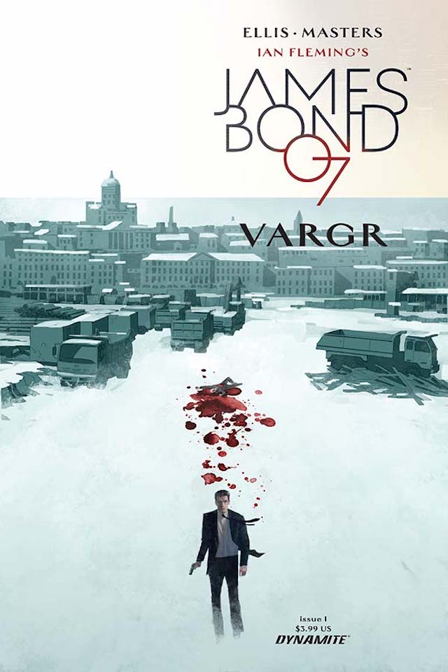 James Bond vuelve en forma de cómic