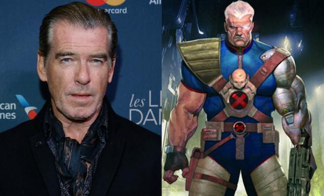 ¿Es Pierce Brosnan el Cable de Deadpool 2?