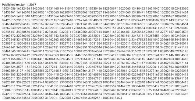 Misterioso mensaje cifrado de Daft Punk