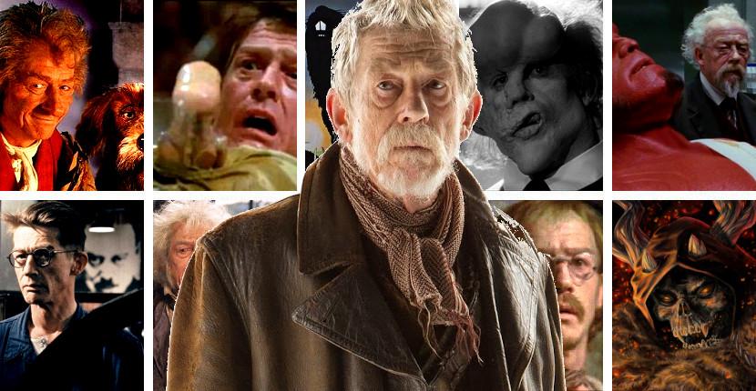 El adiós de un grande de la interpretación, el actor John Hurt muerto a los 77 años de edad