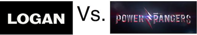 Logan Vs. Power Rangers: duelo en primavera