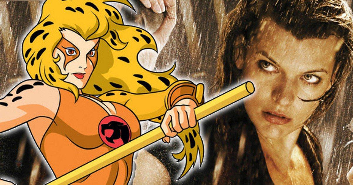 ¿Una película de los Thundercats con Milla Jovovich como Cheetara?
