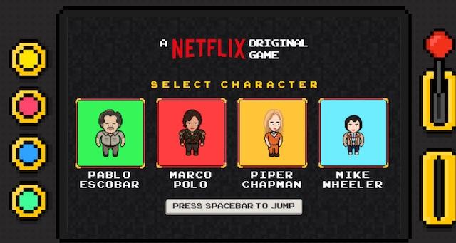 Netflix: el videojuego gratuito