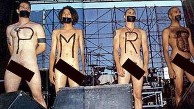 Estrellas del rock desnudas