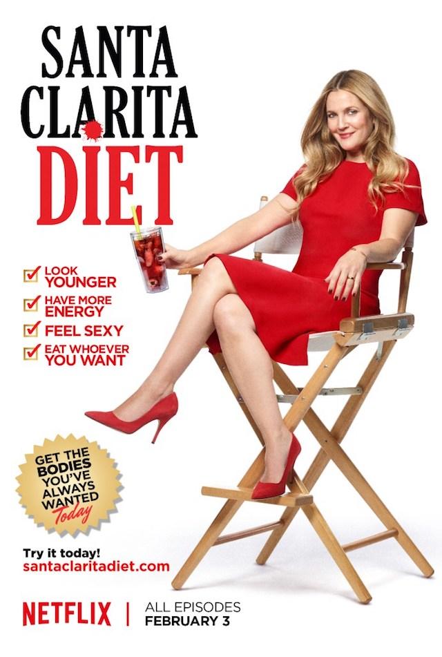 Drew Barrymore caníbal en Netflix