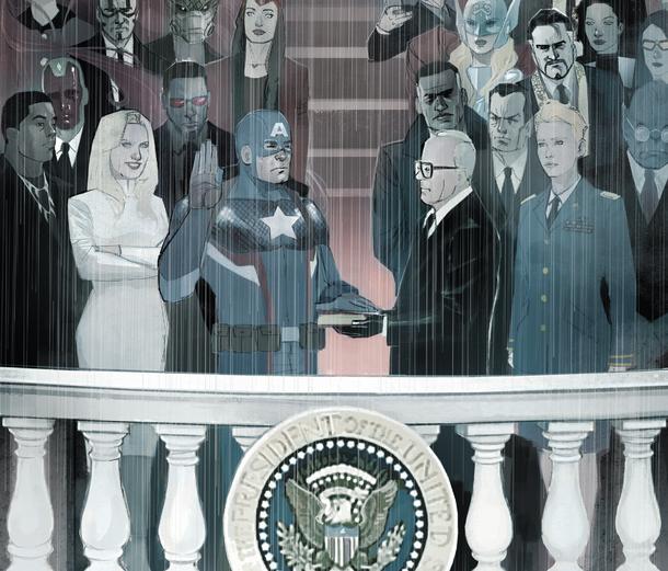 """Marvel convierte al Capitán América en su """"Donald Trump"""""""