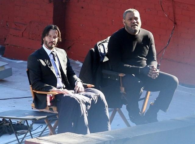 Keanu Reeves a punto para Matrix 4