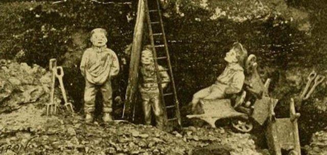 El extraño caso de los gnomos del parque Wollaton