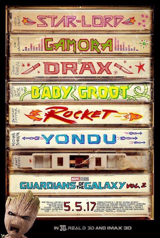 El divertidísimo nuevo tráiler de Guardianes de la Galaxia Vol.2 es oro puro