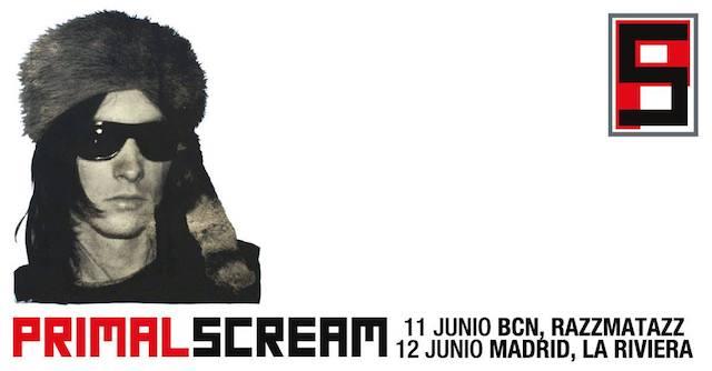 Primal Scream visitará Madrid y Barcelona este verano