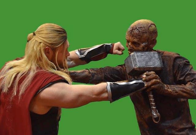 Espectaculares imágenes de Thor 3 y Black Panther