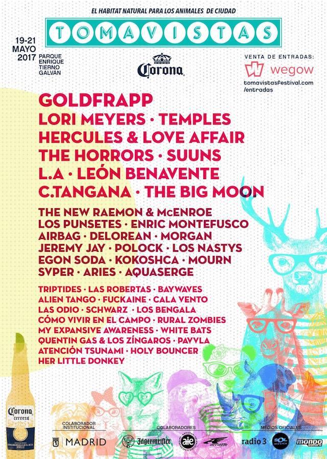 La tercera edición del Festival Tomavistas, cartel de lujo en Madrid