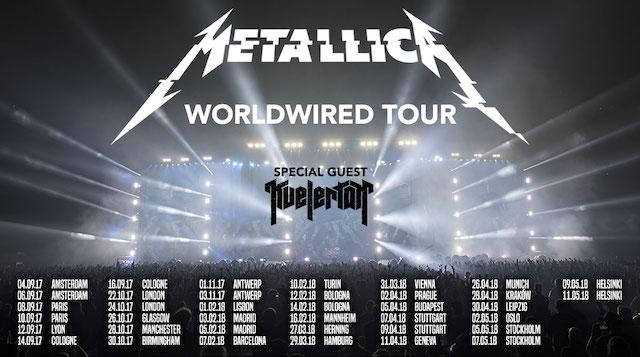 Metallica visitará España con su gira