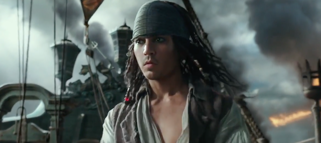 El joven Jack Sparrow en el nuevo tráiler de Piratas del Caribe: La venganza de Salazar