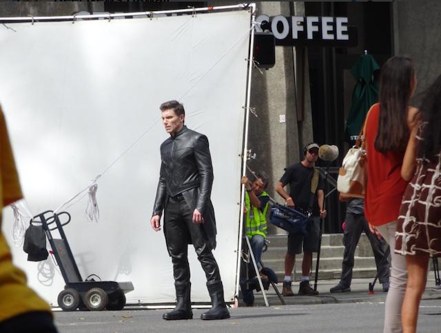 Primeras imágenes de Los Inhumanos de Marvel, con Rayo Negro y Mandíbulas