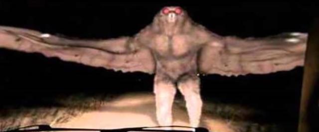 La última y aterradora aparición de Mothman