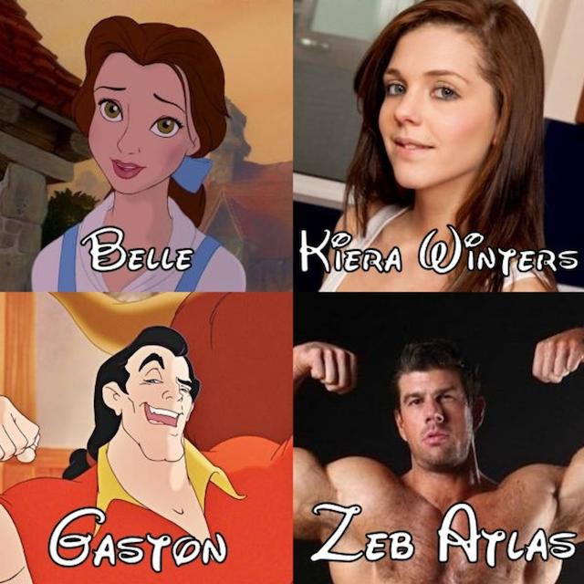 El universo Disney en la pornografía (Vol.1)