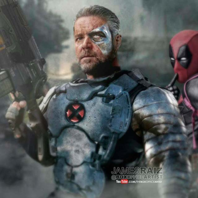 ¿Es Russell Crowe el Cable para Deadpool 2?