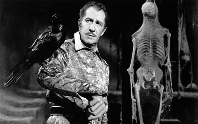 Las 13 mejores películas basadas en Edgar Allan Poe