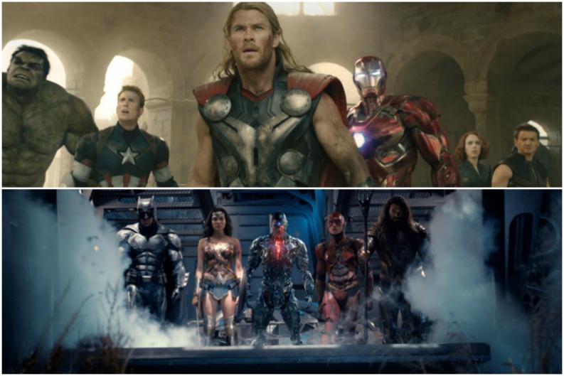 Los Vengadores reaccionan al trailer de la Liga de la Justicia