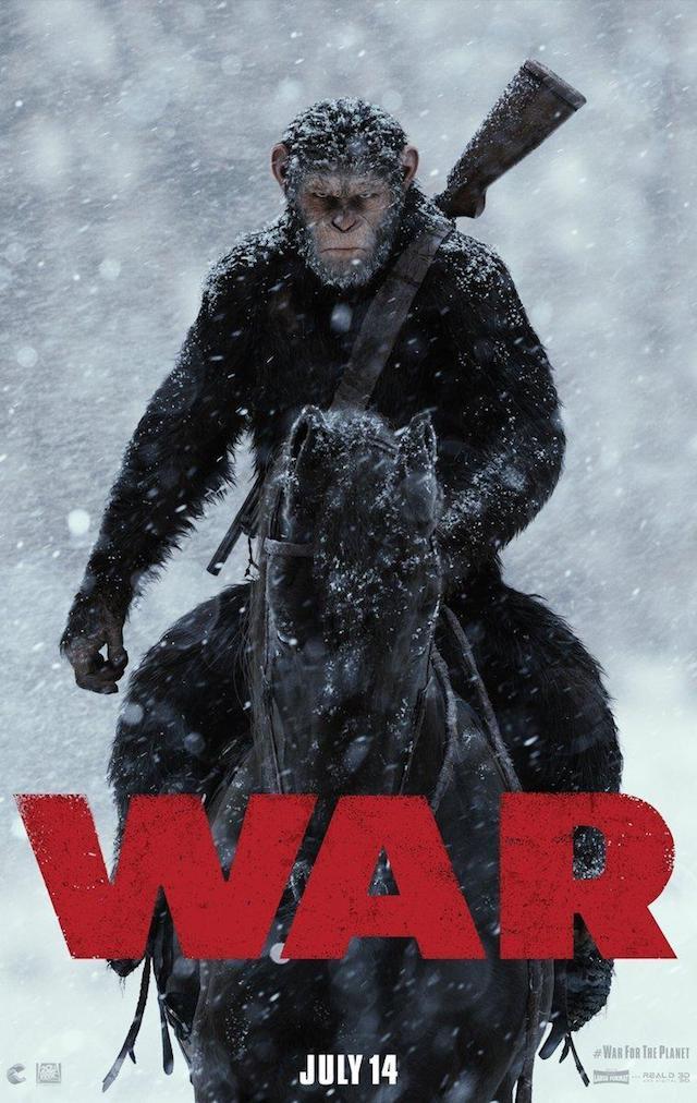 Nuevo tráiler de La guerra del planeta de los simios