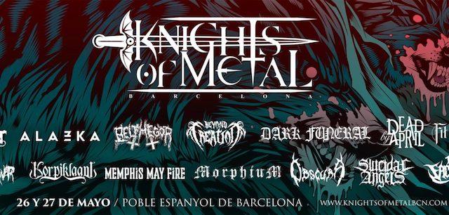 Primera edición del Knights of Metal en el Poble Espanyol de Barcelona