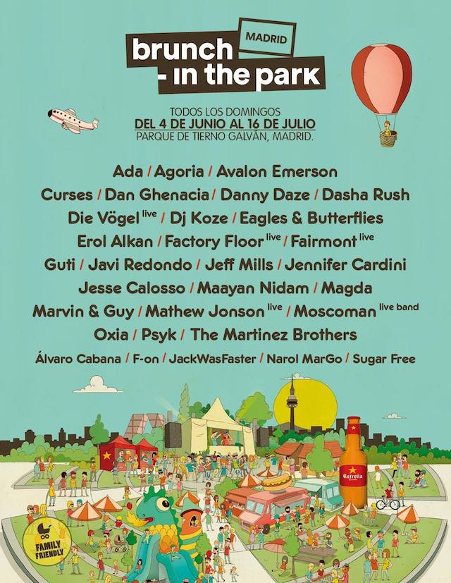 Brunch in the Park vuelve a Madrid