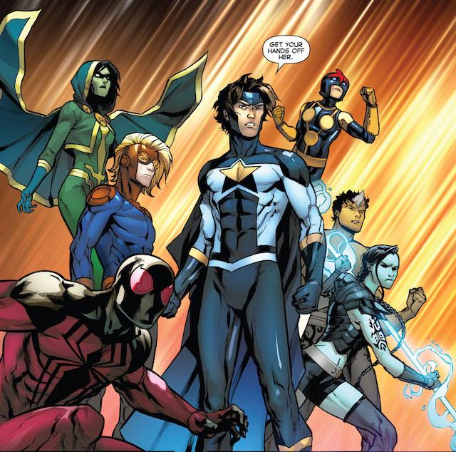 Posibles personajes para New Warriors, la nueva serie de Marvel