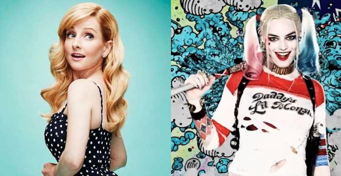 Melissa Rauch será la nueva Harley Quinn
