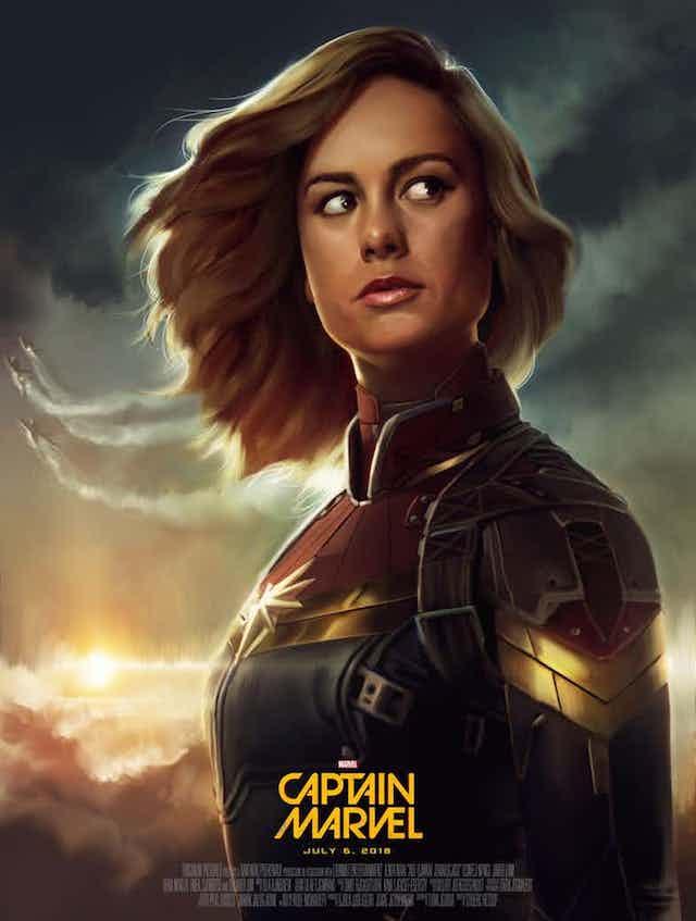 Primera imagen oficial de Captain Marvel, que ya tiene director