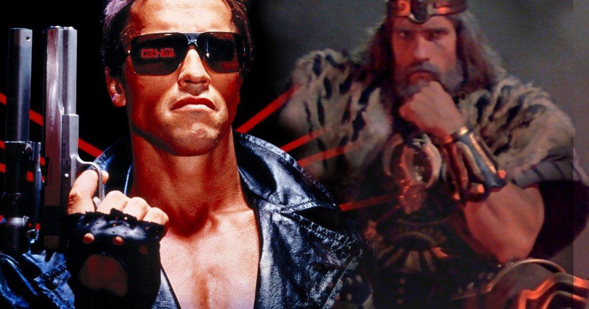 ¿Un crossover entre Terminator y Conan?