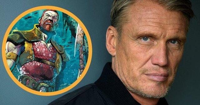 Oficial: Dolph Lundgren será King Nereus en Aquaman